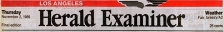 Los Angeles Herald Examiner